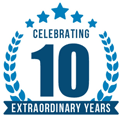 Celebrating 10 Extraordinary Years